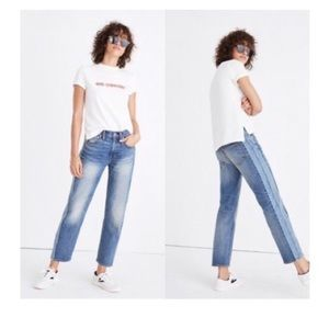 Madewell Cruiser Straight jeans size 27